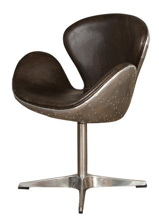 BOSTON SWIVEL CHAIR JAVA BLACK