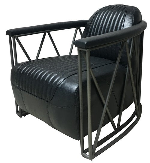 The B52 ARMCHAIR - BELON BLACK