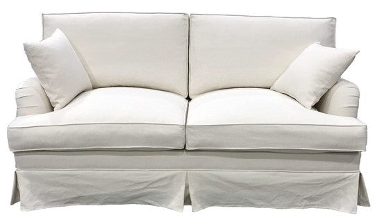 DAYTONA 100% FEATHER & FOAM FILLED SOFA 3 SEATER  - CLOUD