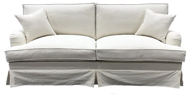 DAYTONA FEATHER & FOAM FILLED SOFA 2 SEATER - CLOUD