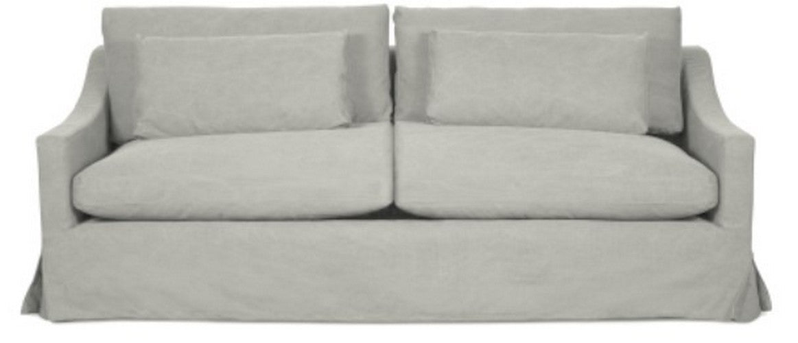 PASTEL GREY - HAMPTON 2.5 SEATER