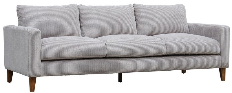 King Henry Corduroy 3 Seater