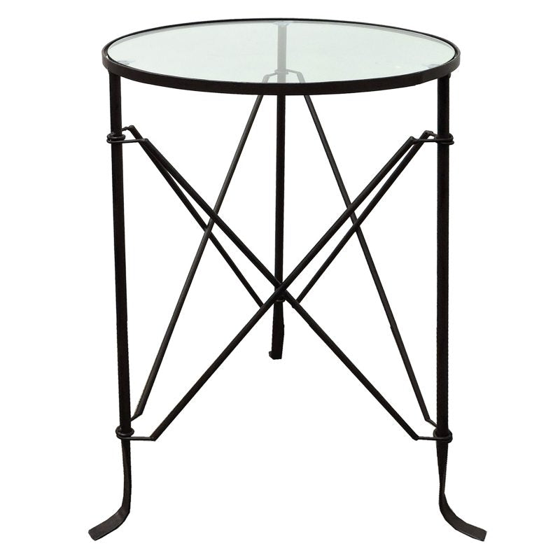 Villa Iron Table Black