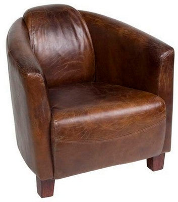 VANGUARD CHAIR VINTAGE CIGAR, DUE AGAIN SOON