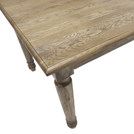 Cambridge Oak Dining Table 240cm
