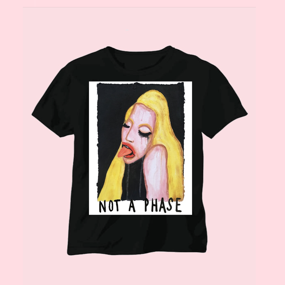 PATRICK CHURCH X NOT A PHASE TEE