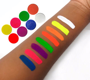 8 Set UV Neon Cake Liner Bundle