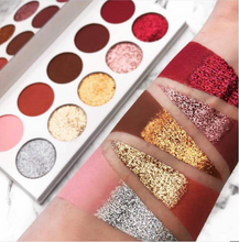 Load image into Gallery viewer, Glitter Love Eyeshadow Palette