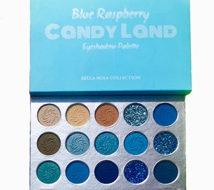 Candy Land - Blue Raspberry Palette