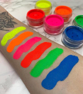 7 Set Neon Pigment Bundle