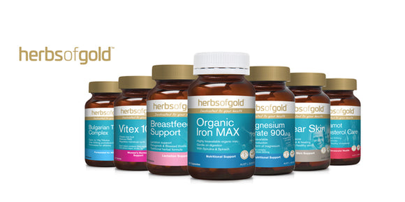 Herbs of Gold product range