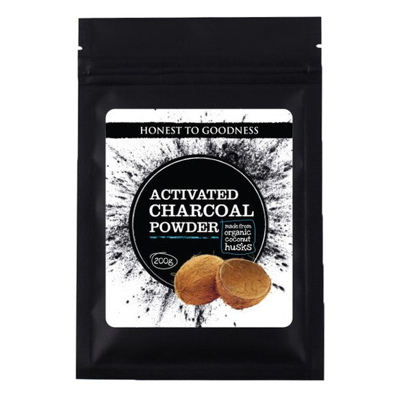 Honest to Goodness - Activated Charcoal Powder - 200gm