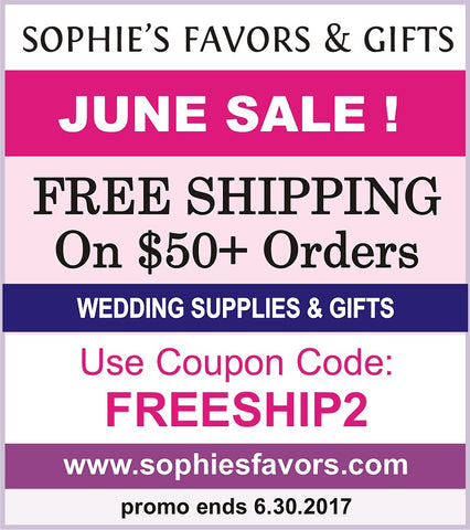 discount wedding favors, wedding favors sale