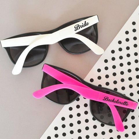 Fun Bachelorette Party Sunglasses