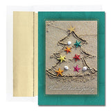 Sand Tree Christmas Cards