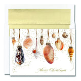 Seashell Ornaments Christmas Cards