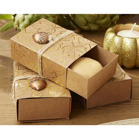 Fall Themed Favor Boxes