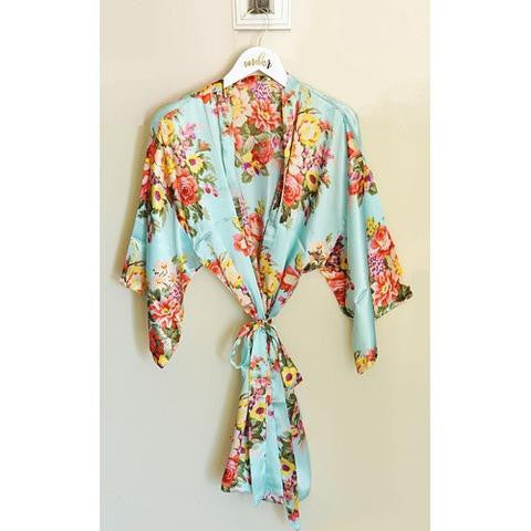 Unique Bridesmaid Gift Idea - Floral Robes