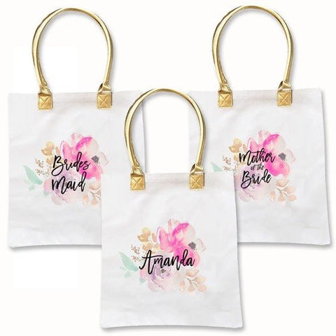 Personalized Tote Bags For Wedding Party