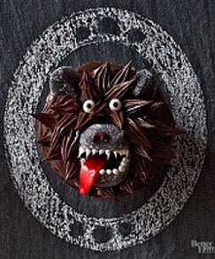 werewolf cupcake ideas,halloween cupcake recipes,monster halloween desserts