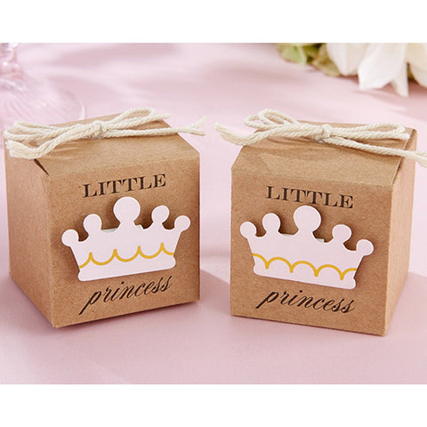 Princess Themed Favor Boxes