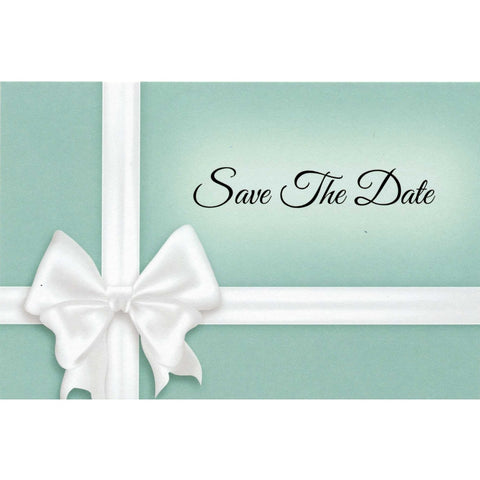 Something Blue Save The Date Postcards - 4in. X 6in.