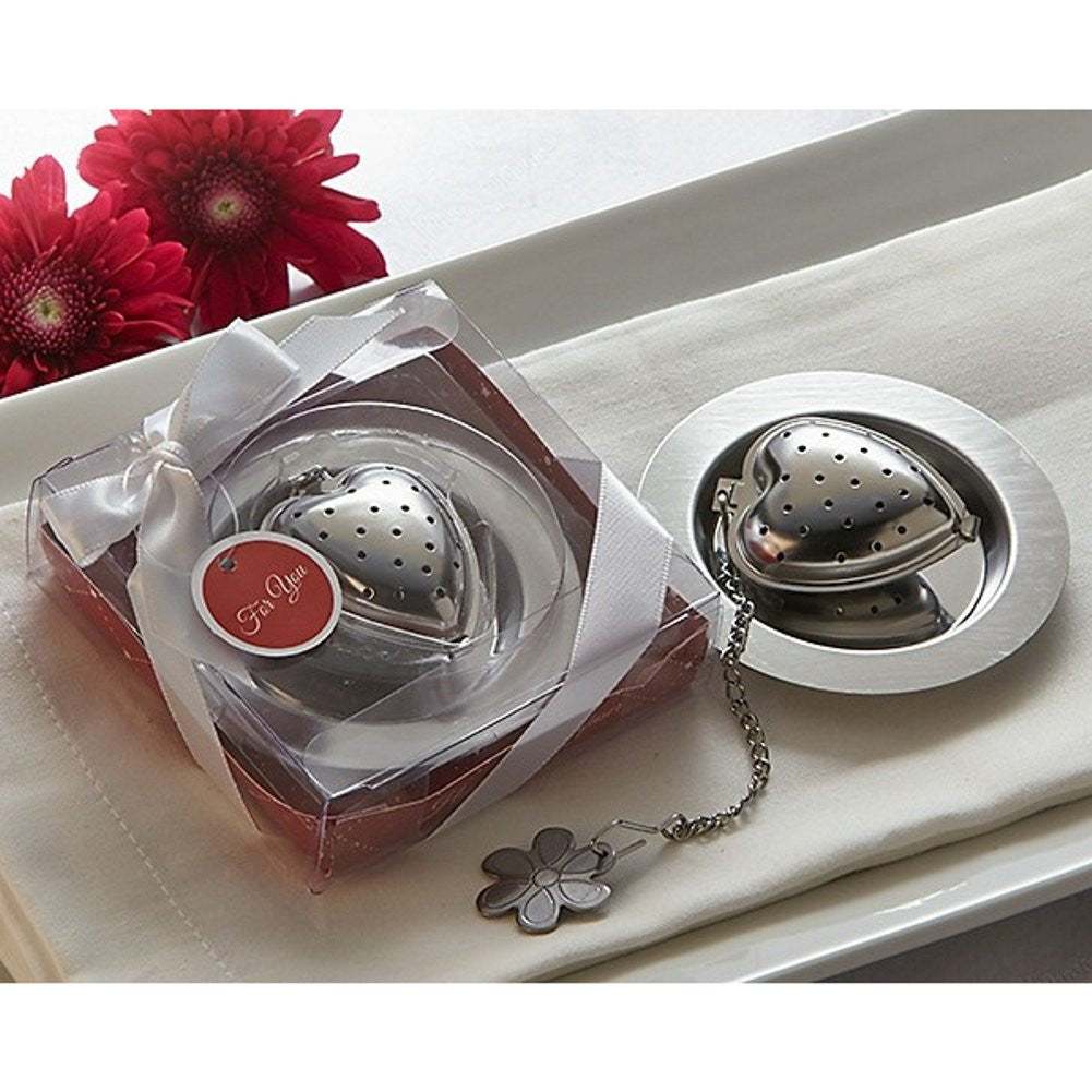 Love is Brewing Heart Tea Infuser - Sophie's Favors and Gifts