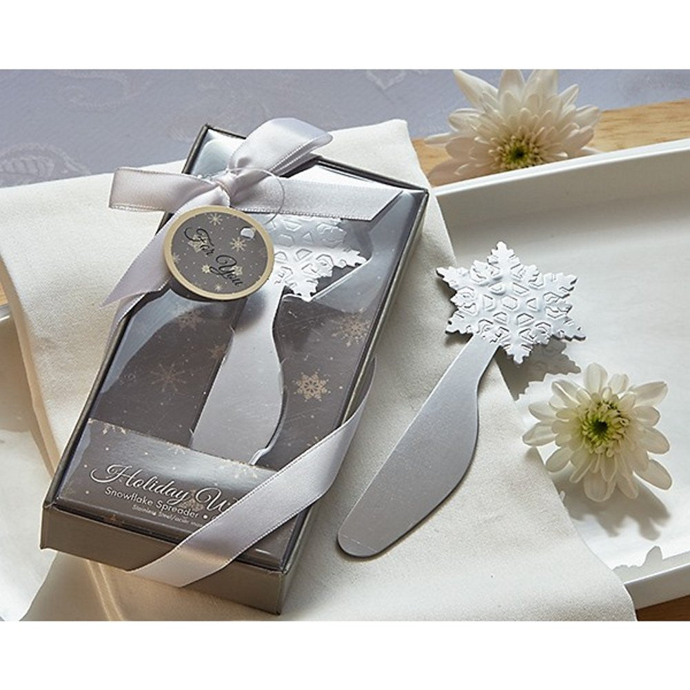 Holiday Wishes Snowflake Spreader - Sophie's Favors and Gifts