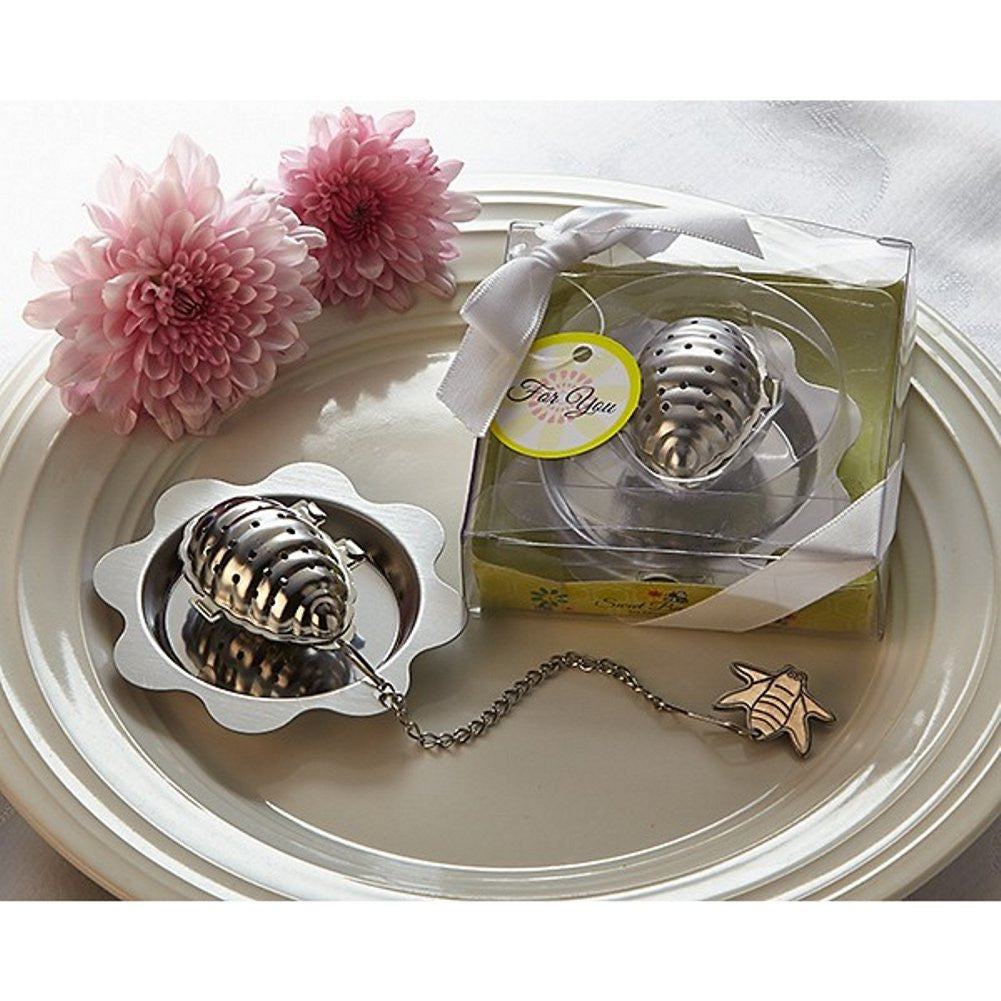 Sweet Bee-ginnings Beehive Tea Infuser - Sophie's Favors and Gifts