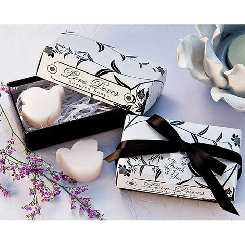 Love Doves Scented Soaps, wedding soap favor, soap party favor, dove favor, dove wedding favor, Soap Favors