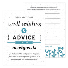 Well Wishes & Advice Cards