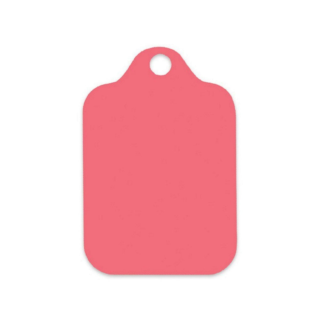 Coral Rose Gift Tags - 3 3/4in. x 2 3/8in. - 50 Pack - Sophie's Favors and Gifts