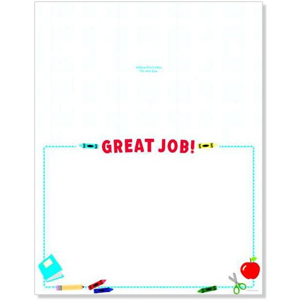 School Tools Photo Certificates, award certificate, blank certificate, kids certificates, school certificates, Stationery & Letterhead