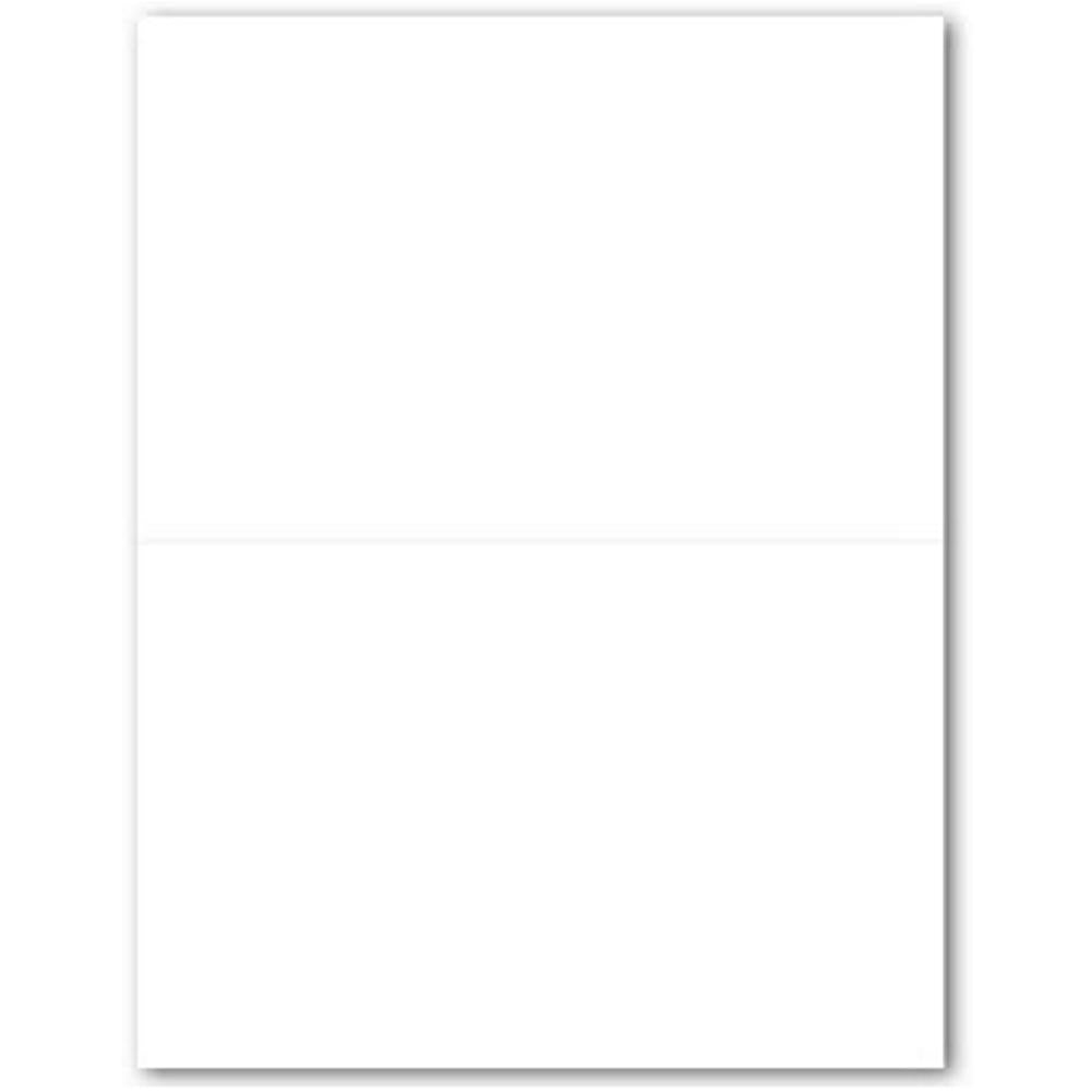 White 2-Up Invitation Cards, white invitations, cheap invitations, do it yourself weddings, white party invitations, Invitations