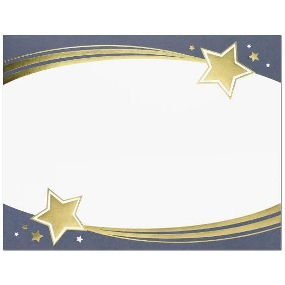 Shooting Stars Foil Certificates - Sophie's Favors and Gifts