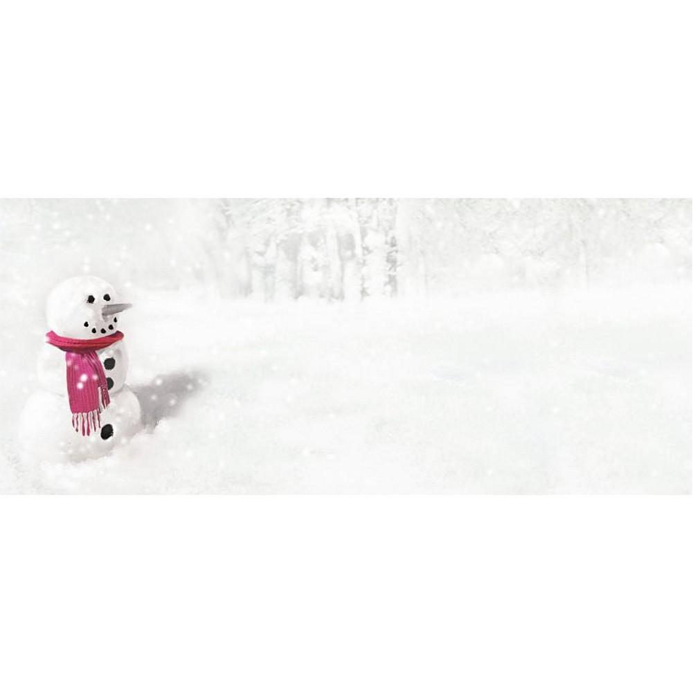 Snowman In Red Scarf No. 10 Envelopes, holiday envelopes, christmas envelopes, color envelopes, christmas supplies, Stationery & Letterhead