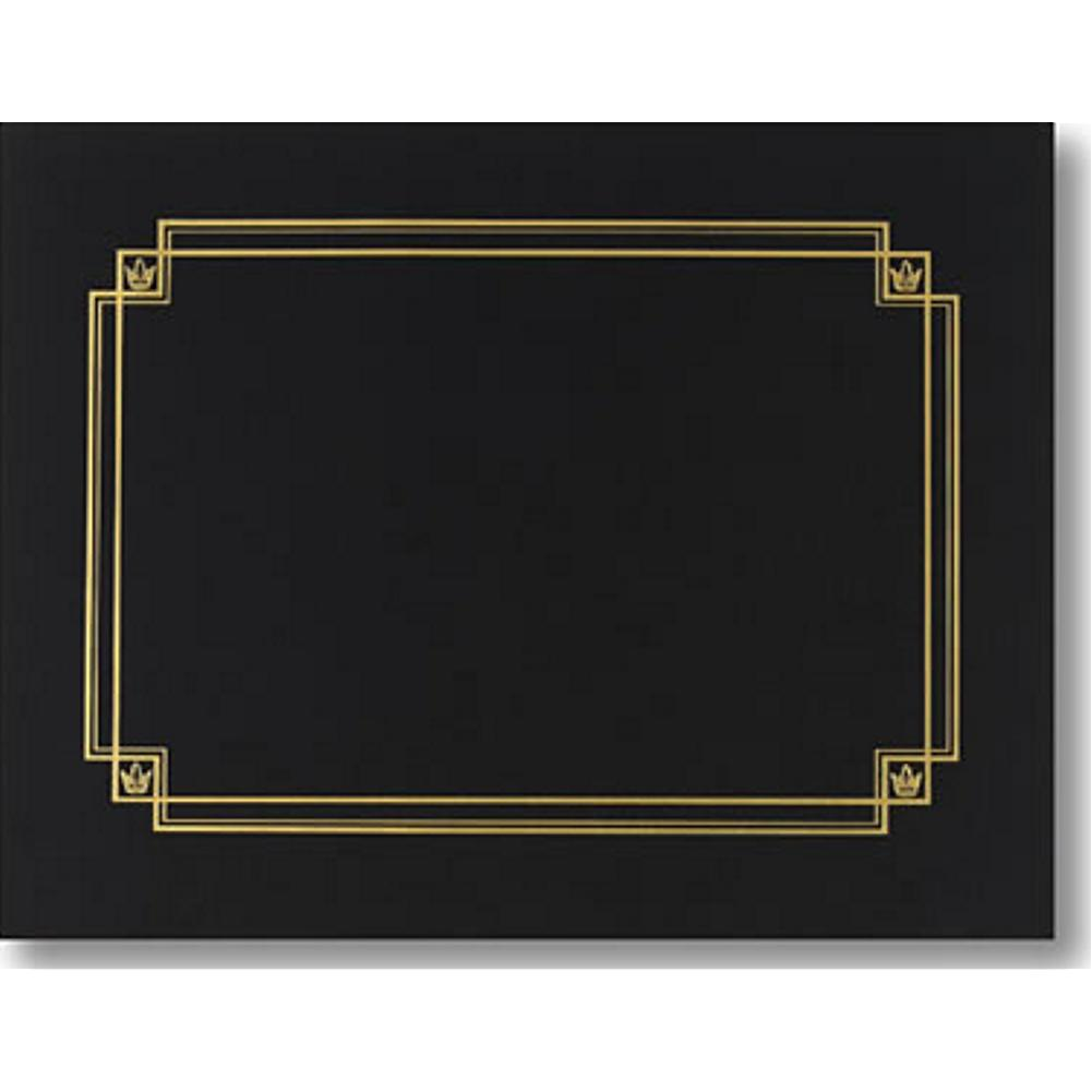 Linen Black Certificate Covers, diploma covers, diploma cover, certificate frames, certificate holders, Stationery & Letterhead