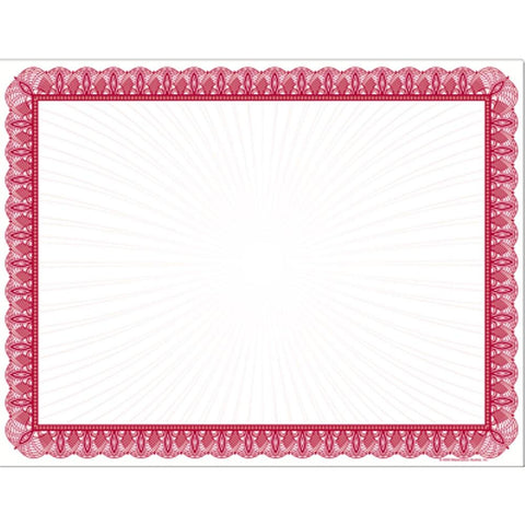Red Value Certificates - Sophie's Favors and Gifts