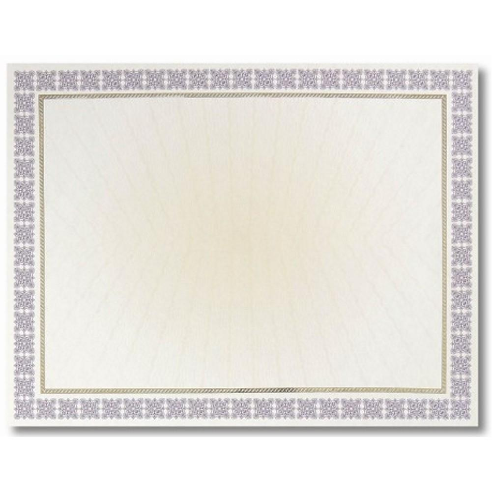 Purple Westminster Parchment Certificates - Sophie's Favors and Gifts