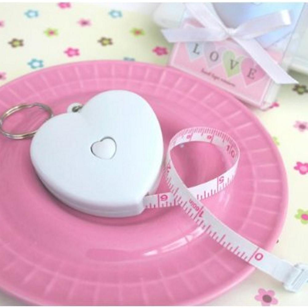 Measure Up Some Love Heart Tape Measure (pack of 50) - Sophie's Favors and Gifts