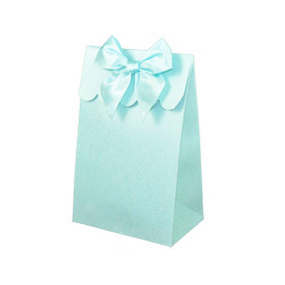 Sweet Shoppe Candy Boxes - SPARKLE BLUE (Set of 24) - Sophie's Favors and Gifts