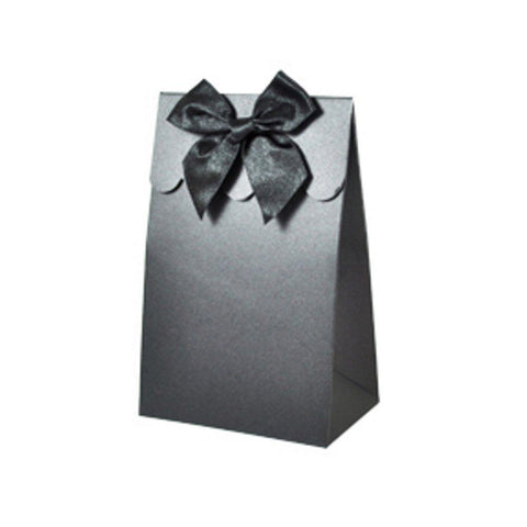 Sweet Shoppe Candy Boxes - SPARKLE BLACK (Set of 72) - Sophie's Favors and Gifts