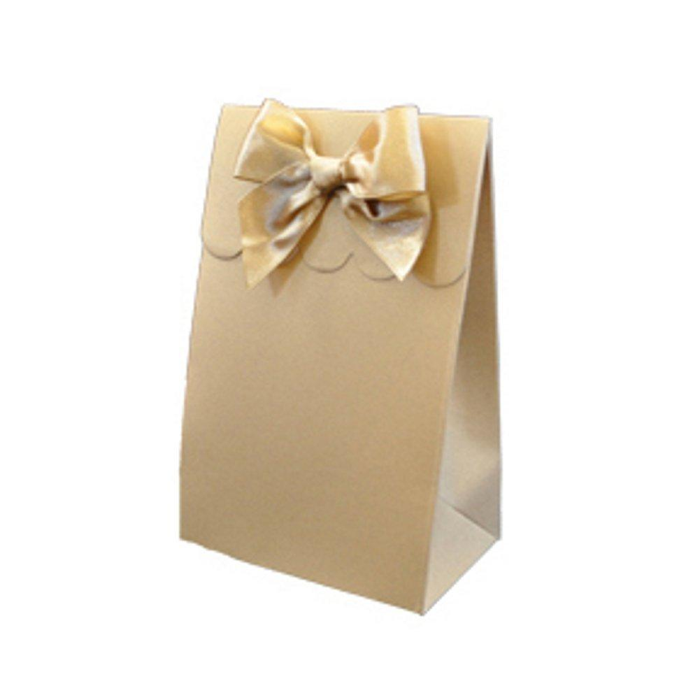 Sweet Shoppe Candy Boxes - SPARKLE GOLD (Set of 48) - Sophie's Favors and Gifts