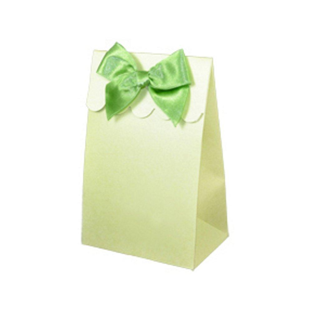 Sweet Shoppe Candy Boxes - SPARKLE GREEN (Set of 72) - Sophie's Favors and Gifts