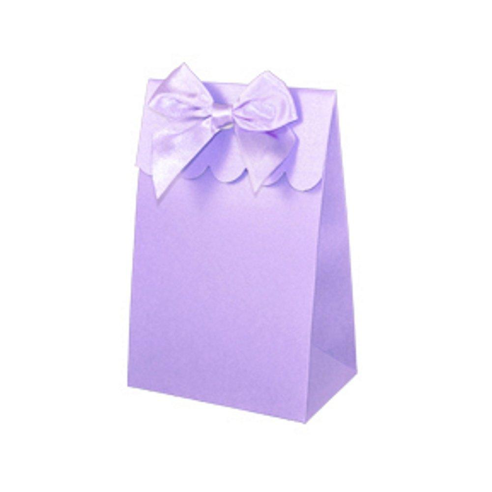 Sweet Shoppe Candy Boxes - SPARKLE LILAC (Set of 96) - Sophie's Favors and Gifts
