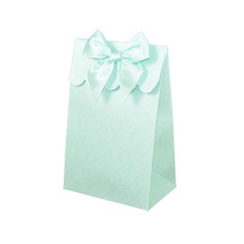 Sweet Shoppe Candy Boxes - SPARKLE SEAFOAM (Set of 24) - Sophie's Favors and Gifts