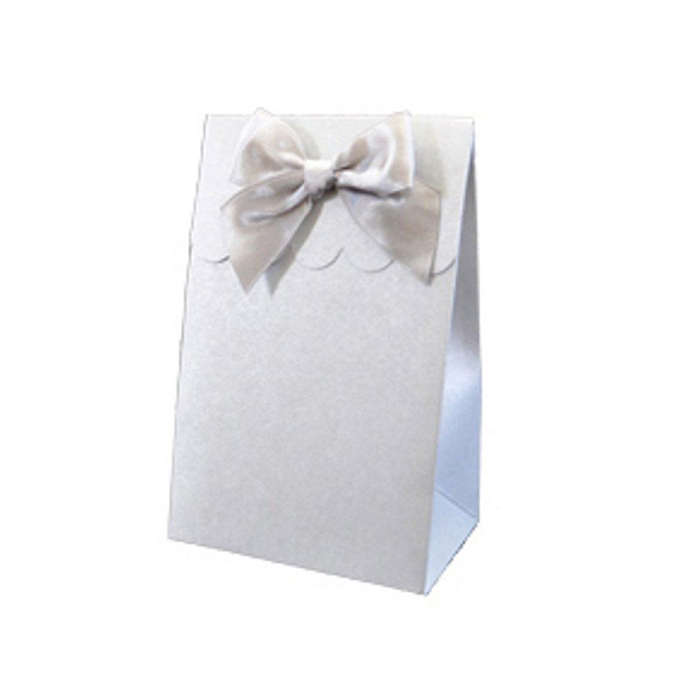 Sweet Shoppe Candy Boxes - SPARKLE SILVER (Set of 72) - Sophie's Favors and Gifts