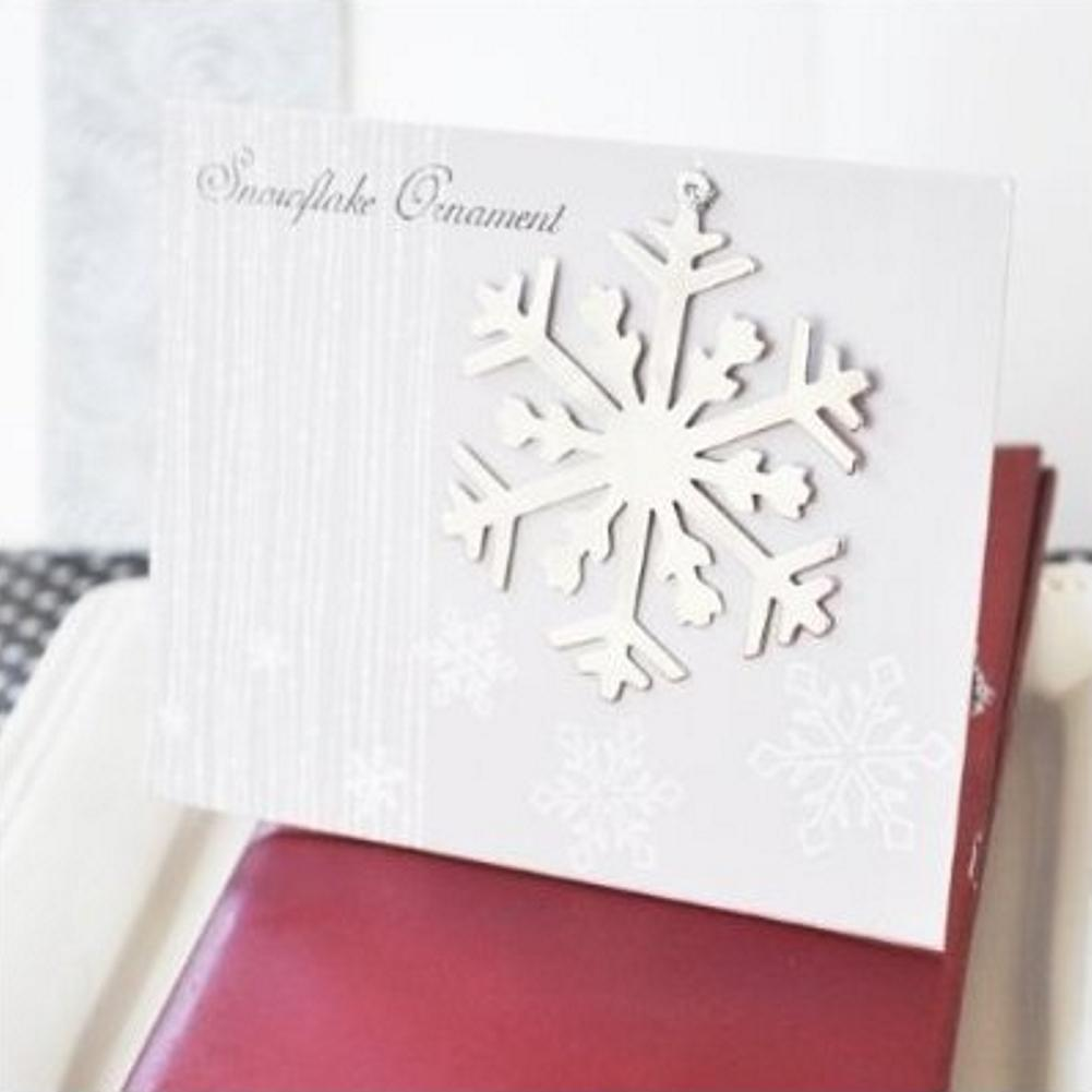 Silver Snowflake Ornament (set of 30) - Sophie's Favors and Gifts