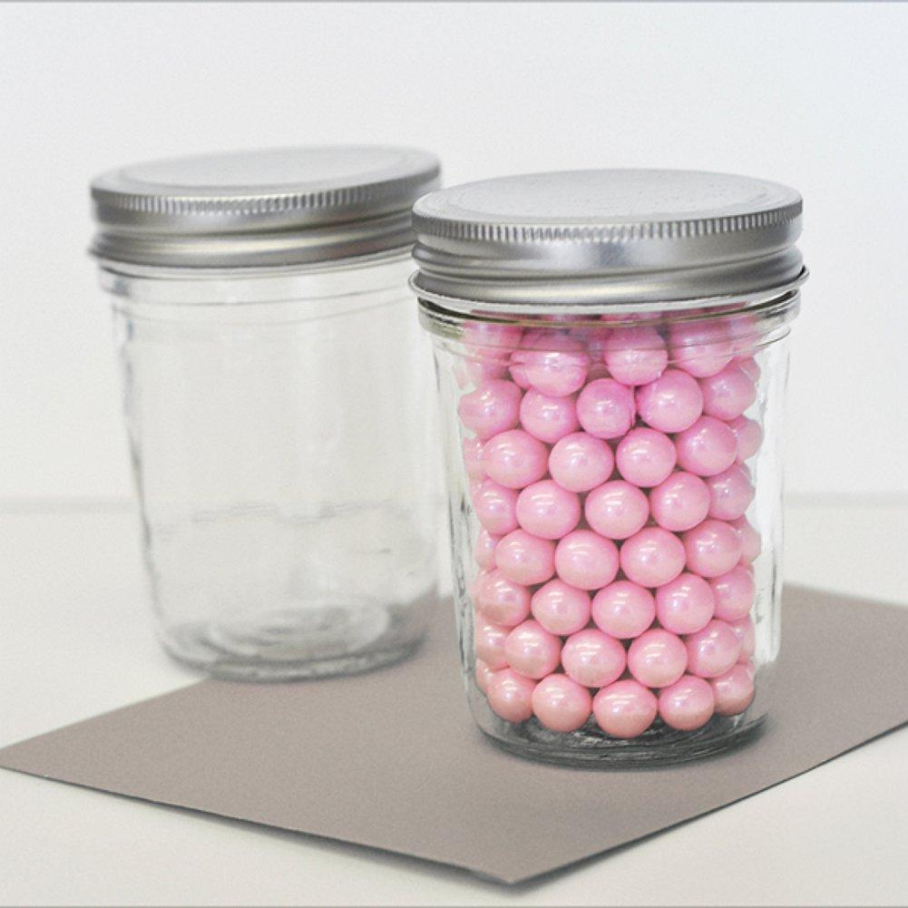 Blank Mini Mason Jars (Set of 50) - Sophie's Favors and Gifts
