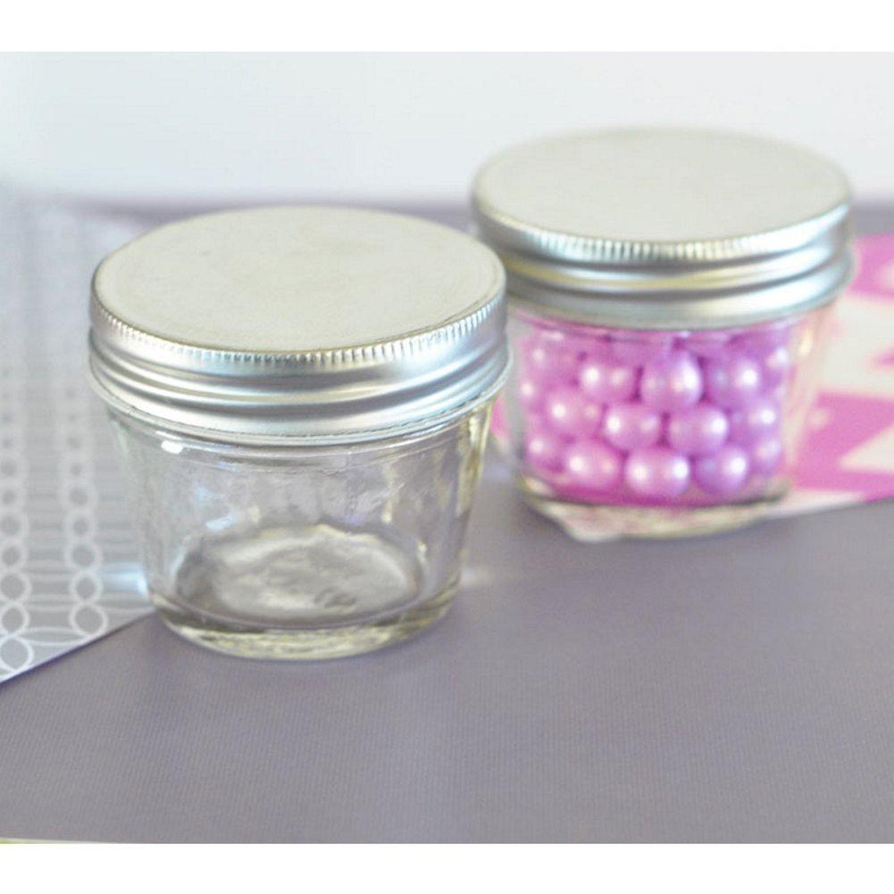 Blank Small 4 oz Mason Jars (Set of 40), vintage jars, old fashioned jars, mason jar favor, small mason jars, cheap mason jar, Favor Boxes